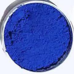 رنگ معدنی آبی